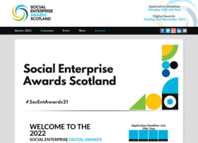 socialenterpriseawards.scot