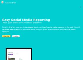 socialinbrief.com