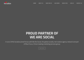 socializeagency.com