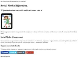 socialmediabijhouden.nl