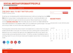 socialmediaforsmartpeople.com