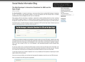 socialmediainformation.wordpress.com