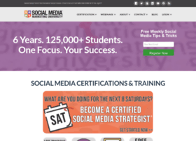 socialmediamarketinguniversity.com