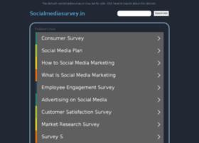socialmediasurvey.in