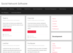 socialnetworksoftware.com