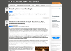 socialnetworkstrategien.de