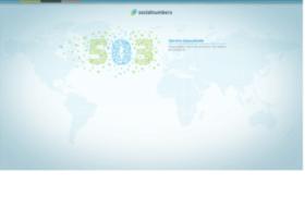 socialnumbers.com