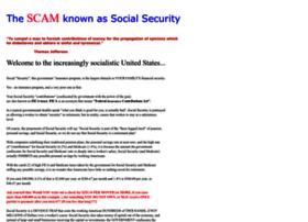 socialsecurityisascam.com