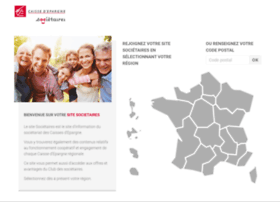 societaires.caisse-epargne.fr