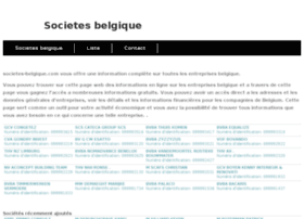 societes-belgique.com