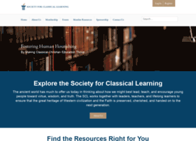 societyforclassicallearning.org