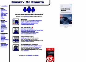 societyofrobots.com