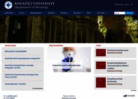 sociology.boun.edu.tr