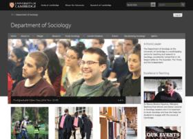 sociology.cam.ac.uk