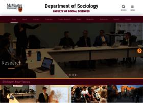sociology.mcmaster.ca