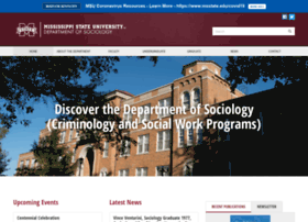 sociology.msstate.edu