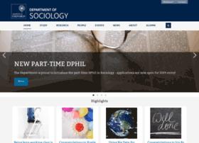 sociology.ox.ac.uk