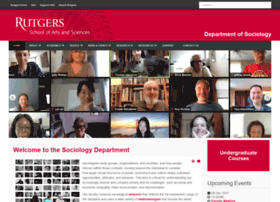 sociology.rutgers.edu