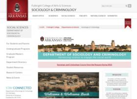 sociology.uark.edu