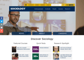 sociology.ucdavis.edu