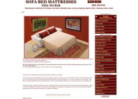 sofabed-mattress.com