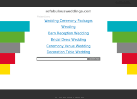sofabulousweddings.com