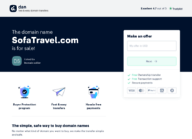 sofatravel.com