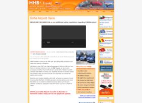 sofiaairporttaxis.com