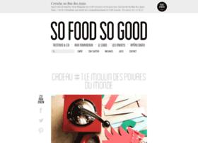 sofoodsogood.com