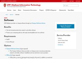 software.wisc.edu