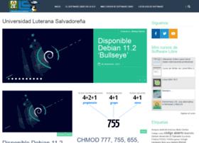 softwarelibre.uls.edu.sv