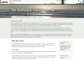 softwarepatents.org.nz