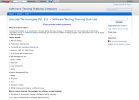 softwaretestingtraining.wikidot.com