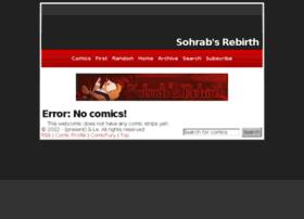 sohrabs-rebirth.thecomicseries.com