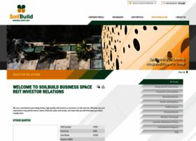 soilbuildreit.listedcompany.com
