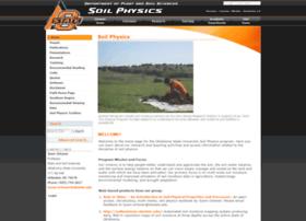 soilphysics.okstate.edu