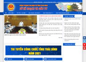 sokhdt.thaibinh.gov.vn