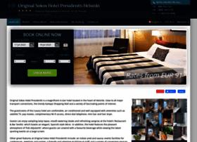 sokos-hotel-presidentti.h-rsv.com