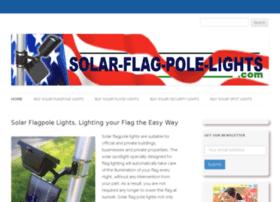 solar-flag-pole-lights.com