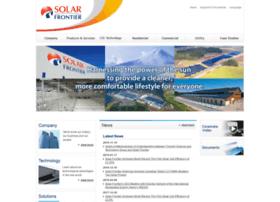 solar-frontier.com