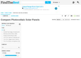 solar-panels.findthebest.com