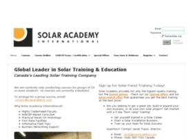 solaracademyinternational.com