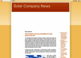 solarcompanynews.blogspot.com