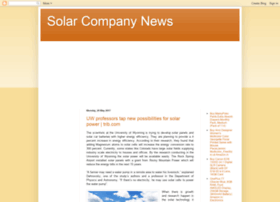 solarcompanynews.blogspot.in