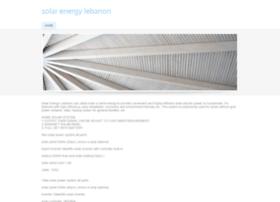 solarenergylebanon.weebly.com