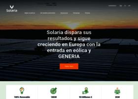 solariaenergia.com