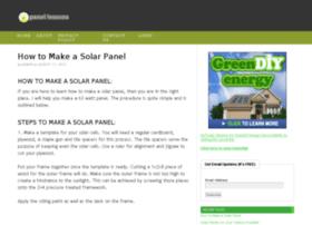 solarpanellessons.com