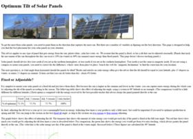 solarpaneltilt.com