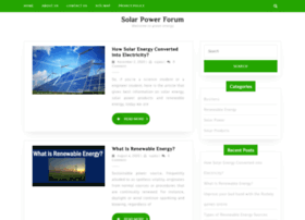 solarpowerforum.net