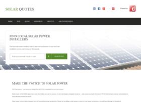 Solarquotesfree Com Au Info Solar Power Quotes Free